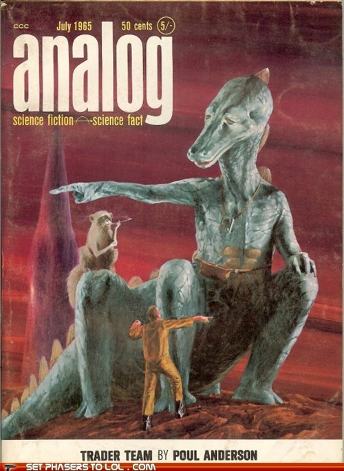WTF Sci-Fi Book Covers: Trader Team
