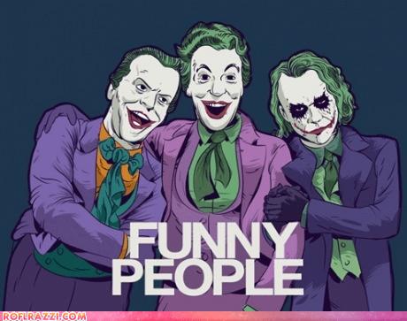 art,batman,cesar romero,funny,heath ledger,jack nicholson,joker
