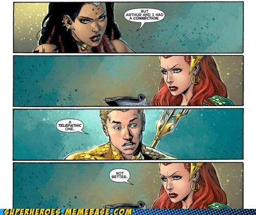 Aquaman Has Lady Troubles?