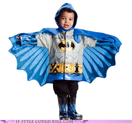 batman,best of the week,children,comics,cool accessories,geek chic,jackets,kids,rain coats,slickers