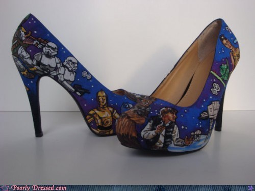 Perhaps the Shoes Will Take You to a Galaxy Far Away?