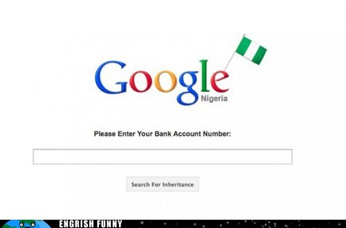 google,im-feeling-lucky,nigeria,nigerian king,nigerian scam