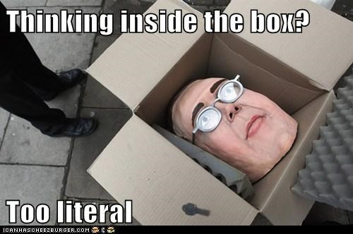 box,political pictures,puns