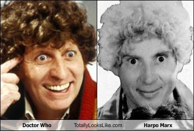 Doctor Who Totally Looks Like Harpo Marx