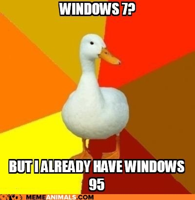 Animal Memes: Technologically Impaired Duck - You Can't Fool Me