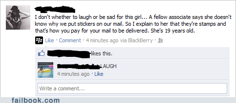 Failbook: How to Laugh and Be Sad at the Same Time