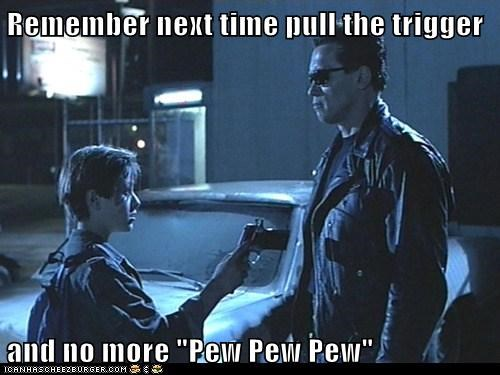 "Maybe I LIKE Saying ""Pew Pew Pew"""