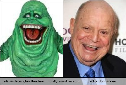 Slimer from Ghostbusters Totally Looks Like actor Don Rickles