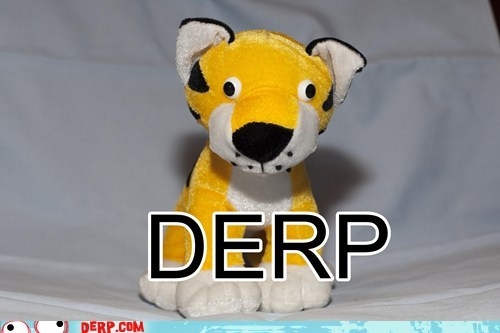 derp,stuffed animal,tiger,toy