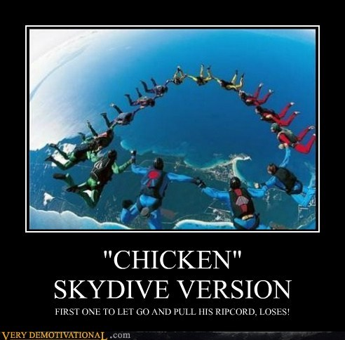 """CHICKEN""SKYDIVE VERSION"