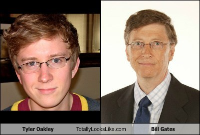 Tyler Oakley Totally Looks Like Bill Gates