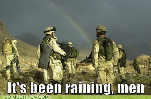 As Opposed to Menning Rain?
