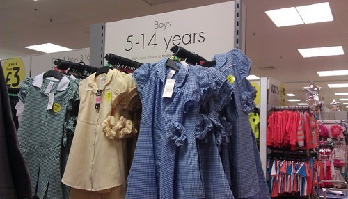department stores,clothes,dresses,parenting,poorly dressed,g rated