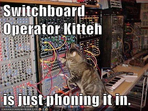 Switchboard  Operator Kitteh