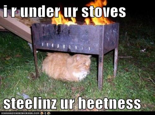 i r under ur stoves