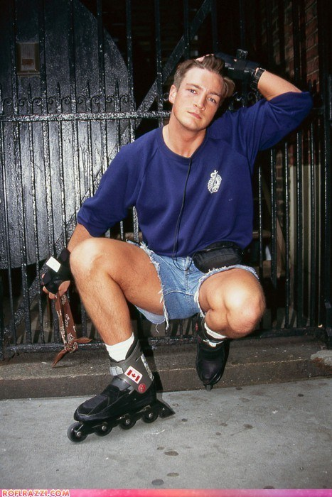 Oh Nothing, Just Nathan Fillion Circa 1995