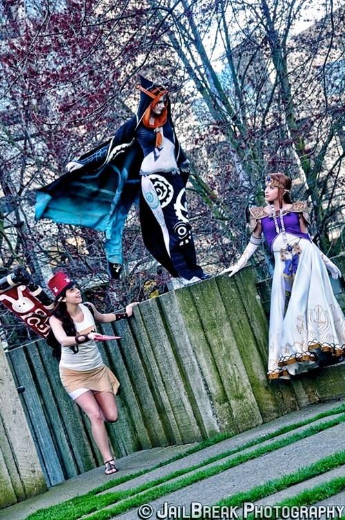 cosplay,Midna,postman,video games,zleda