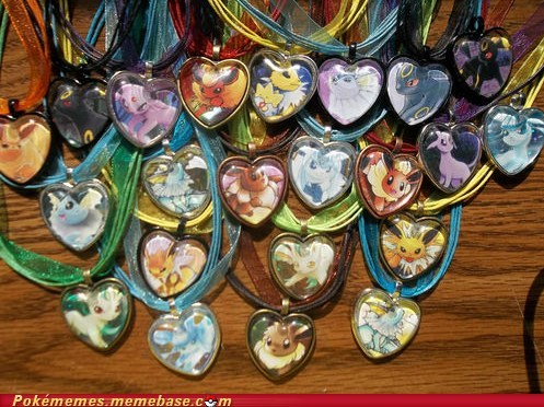 All the Eeveelutions!