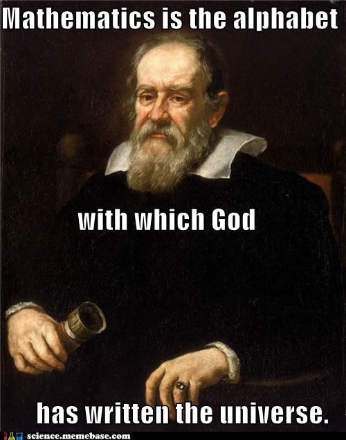 Yes, Galileo
