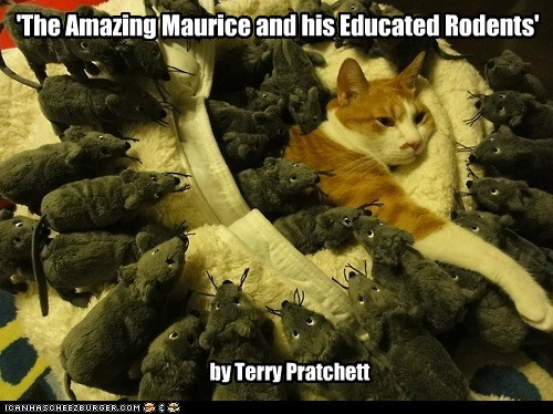 'The Amazing Maurice and his Educated Rodents'