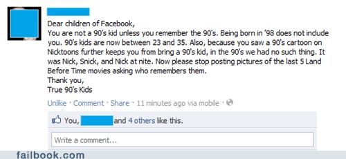 True '90s Kids Represent