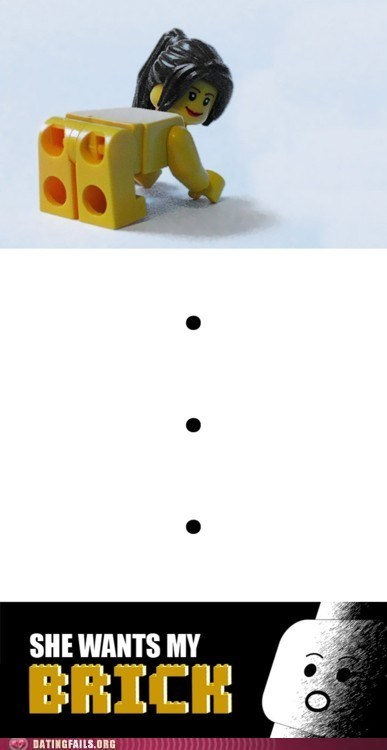 Anatomically Correct Legos Frighten Me