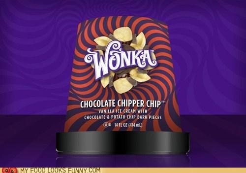 chocolate,ice cream,new,potato chips,wonka