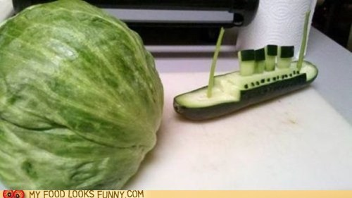 Look Out, Cuke-tanic!