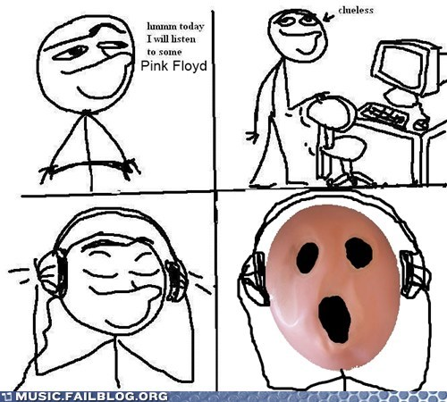 comic,pink floyd,today i will listen to x