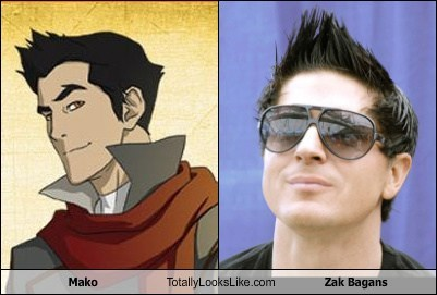 Mako Totally Looks Like Zak Bagans