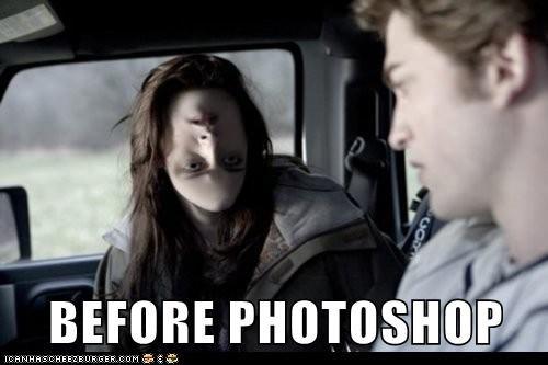 BEFORE PHOTOSHOP