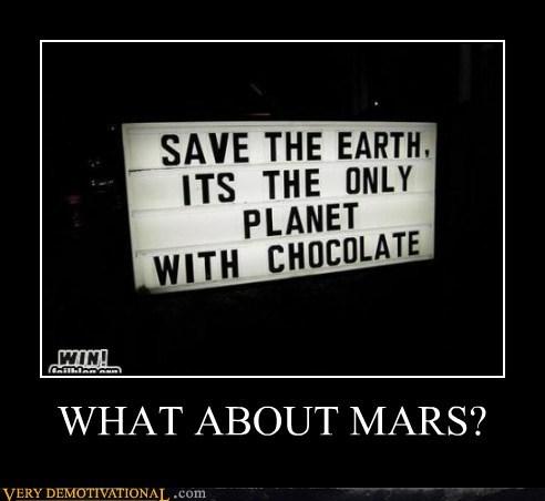 chocolate,earth,hilarious,Mars
