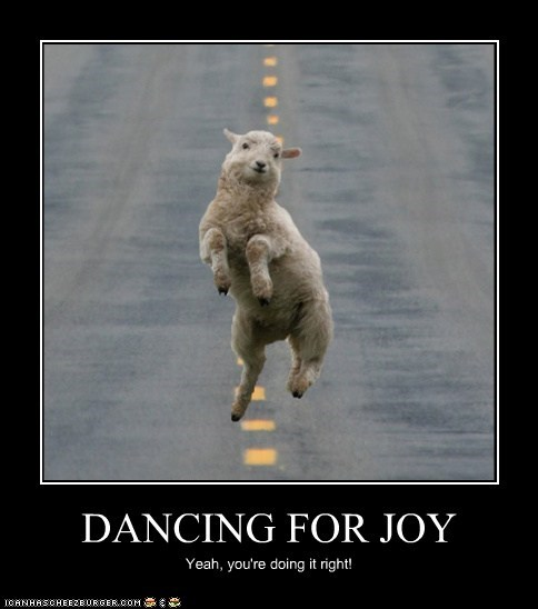 DANCING FOR JOY