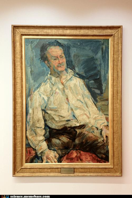 painting,princeton,Professors,richard feynman
