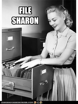 FILE SHARON