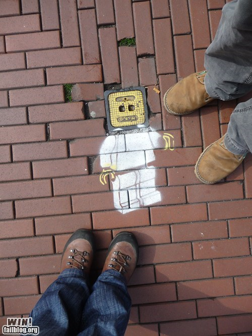 Hacked IRL: Urban LEGO Brick WIN