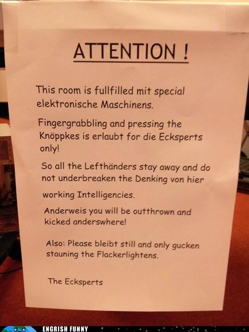 Engrish Funny: Read Instrukshenz First!