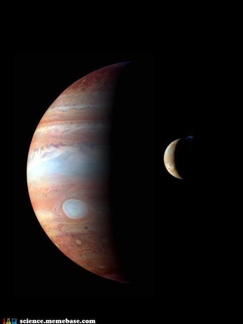 Io and Jupiter What a Pair... Just Don't Tell the Other Moons