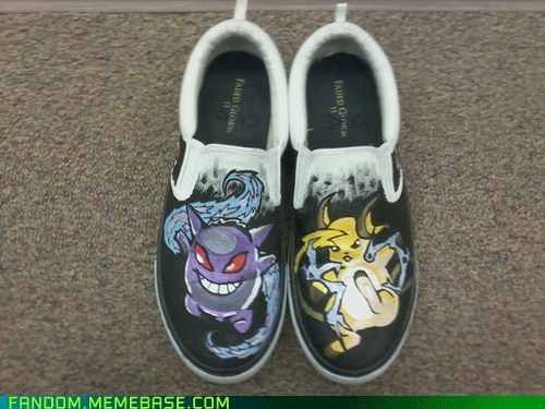 Raichu are for Me, Shoes