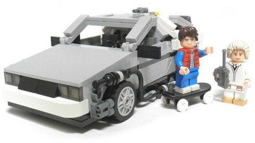 Back to the Future Lego Set of the Day