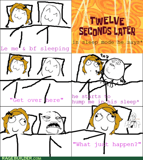 sleeping rage