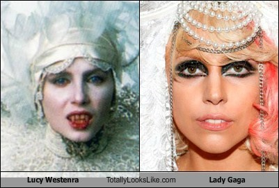 Lucy Westenra (Sadie Frost) Totally Looks Like Lady Gaga