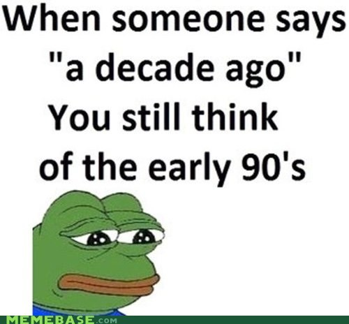 But 1992 Was Only- TWENTY YEARS AGO WHAT