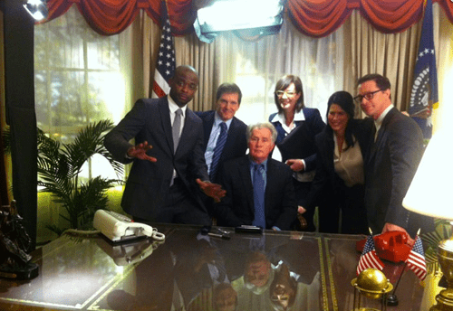 West Wing Reunion of the Day