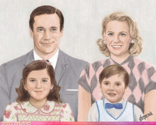 """Mad Men"" Family Portrait"