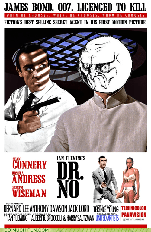 double meaning,dr-no,expression,james bond,no face,Rage Comics