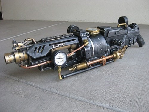 Giant Steampunk Nerf Gun of the Day