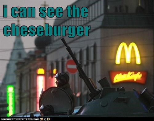 i can see the cheseburger