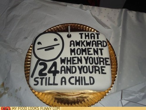 birthday cake,fondant,poker face