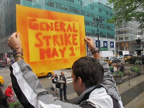 May Day Protests of the Day